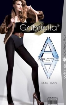 RAJSTOPY GABRIELLA 500 den ARCTIC czarne